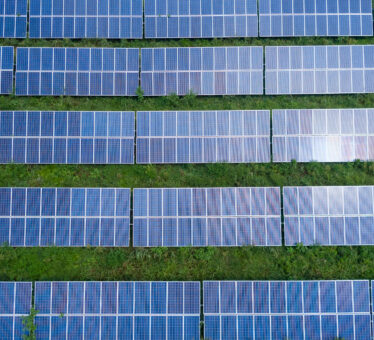 Top view photo of solar panels 2800832